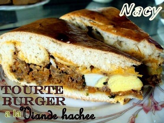 tourte burger 1