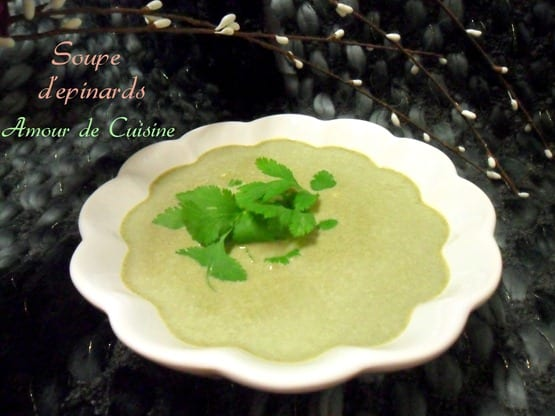 veloute d'epinards 011