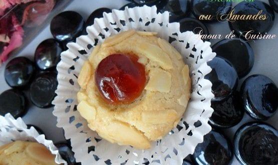 mchewek – gateau algerien aux amandes