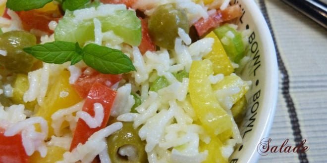 salade de riz / salade composee