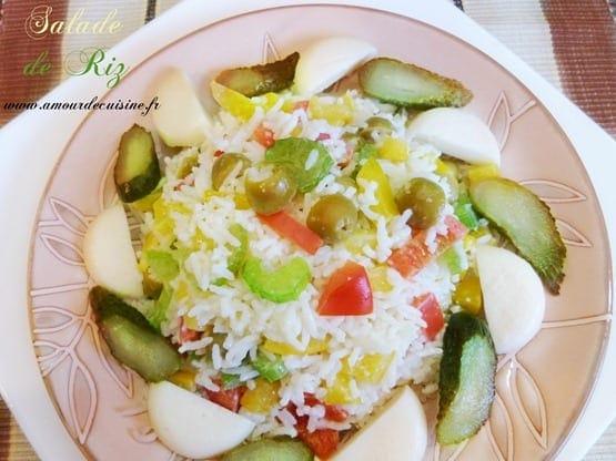 salade composee au riz