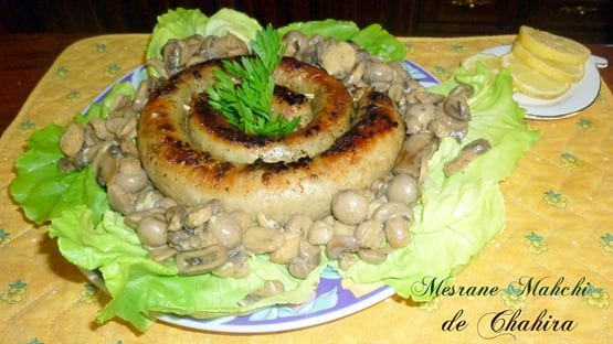 Mesrane mahchi boyau farci recettes aid el kebir 2012 for Aide de cuisine