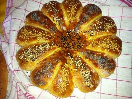pain maison aux grains