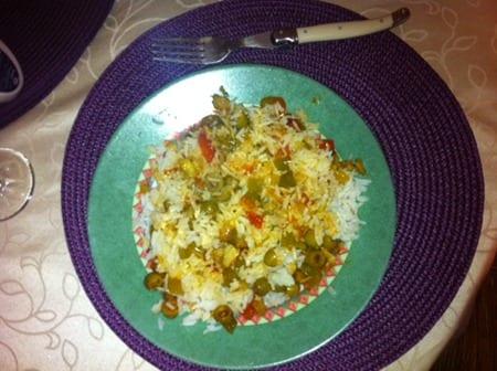 riz a la sauce provencale