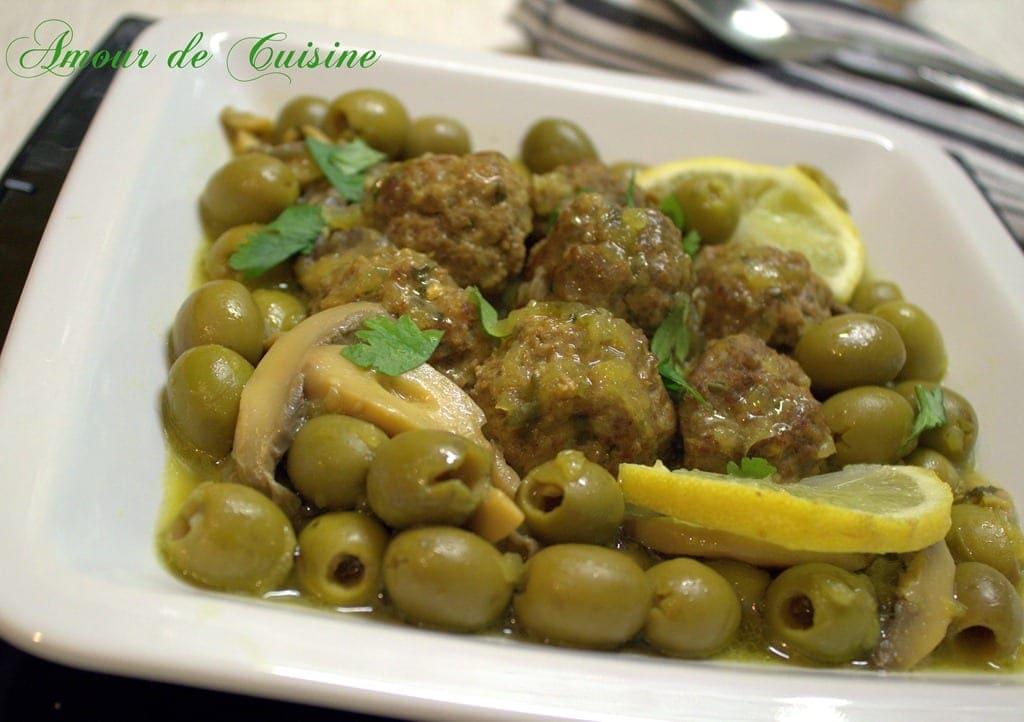 Tajine zitoune cuisine algerienne amour de cuisine for Amour de cuisine