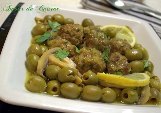 viande hachee aux olives et champignons.CR2