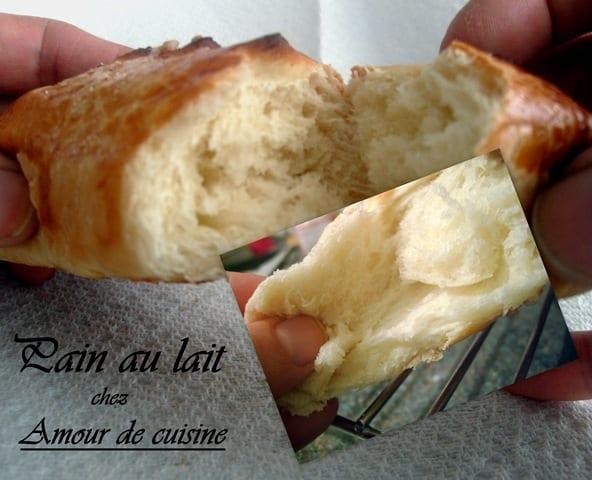 Petit pain au lait moelleux fait maison amour de cuisine for Amour de cuisine