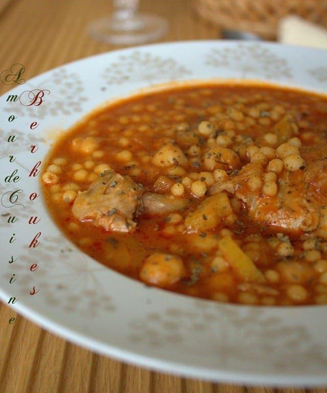 Soupe de plomb cuisine algerienne amour de cuisine for Amour de cuisine arabe