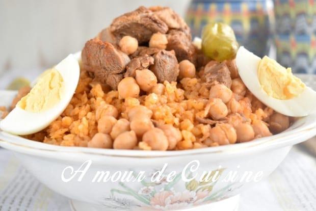 Chekhchoukha constantinoise chakhchoukha de constantine for 1 amour de cuisine