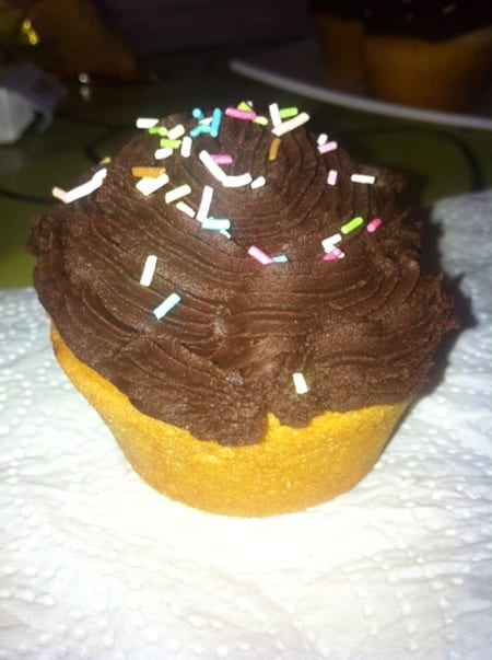 cupcakes au chocolat de jijilia
