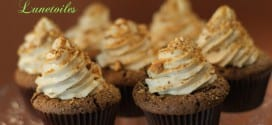 cupcakes chocolat coeur de speculoos