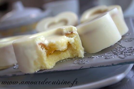 Recettes gateaux de choumicha madeleine au chocolat for 1 amour de cuisine