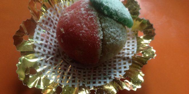 peches aux amandes, gateau algerien sans cuisson