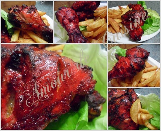 poulet tandoori , recette indienne
