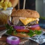 recette facile du burger fait maison
