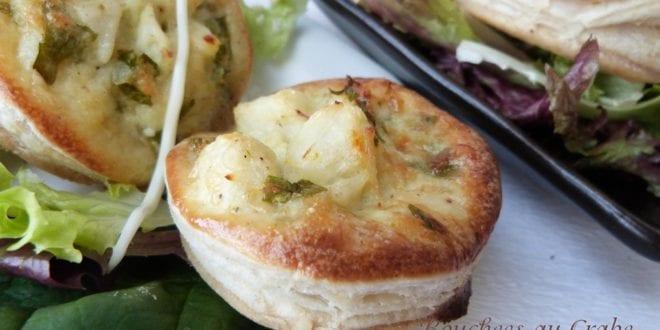 amuse bouche / bouchées de crabe au parmesan