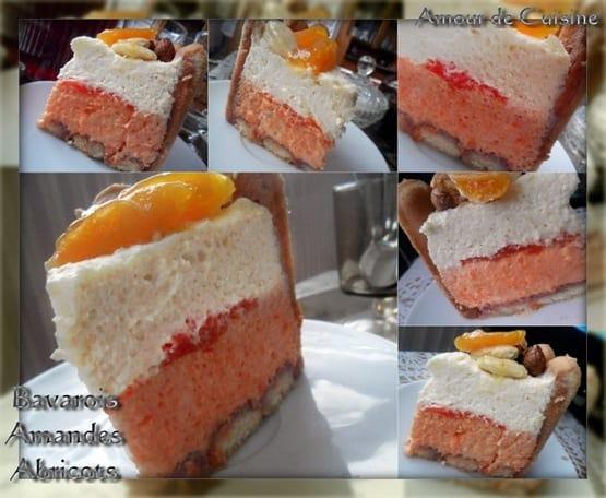 charlotte bavarois abricot amande 2
