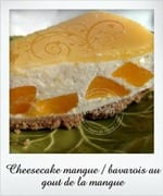 cheesecake mangue, gateau du reveillon 2013