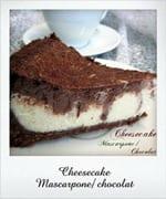 cheesecake mascarpone chocolat