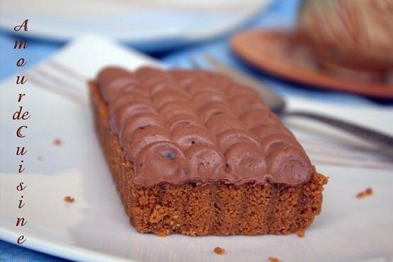 tartelettes au chocolat style cheesecake