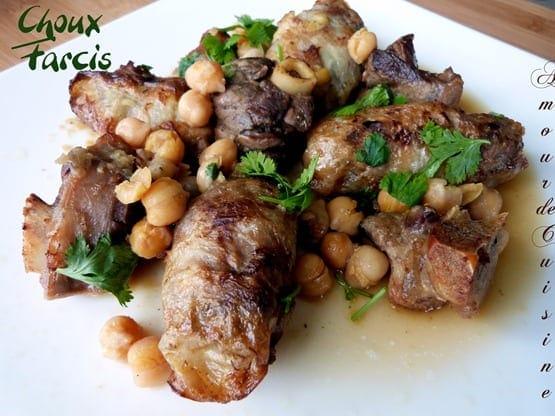 choux farcis au four- houriat el matbakh- cuisine algerienne
