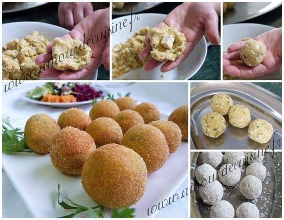 croquettes de pommes de terre farcies au fromage 1