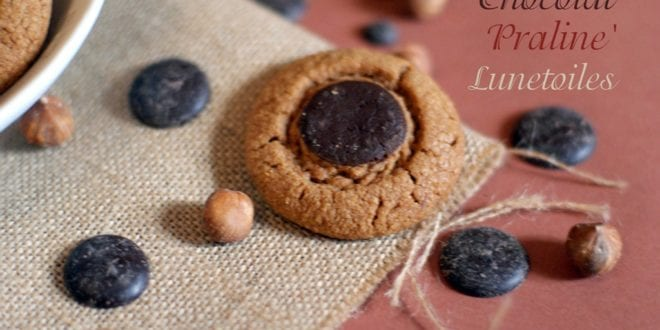 gateau sec / petits gâteaux chocolat praliné