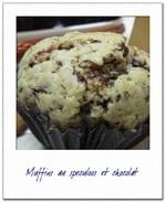muffins au speculoos
