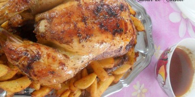 poulet au four