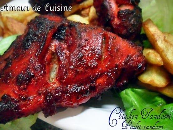 poulet tandoori chicken tandoori