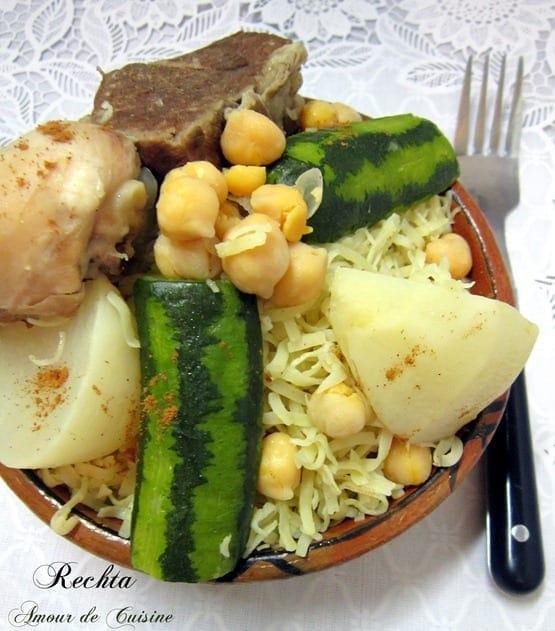 Rechta alg roise cuisine algerienne amour de cuisine for Algerienne cuisine