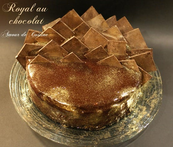 Royal au chocolat  ou trianon