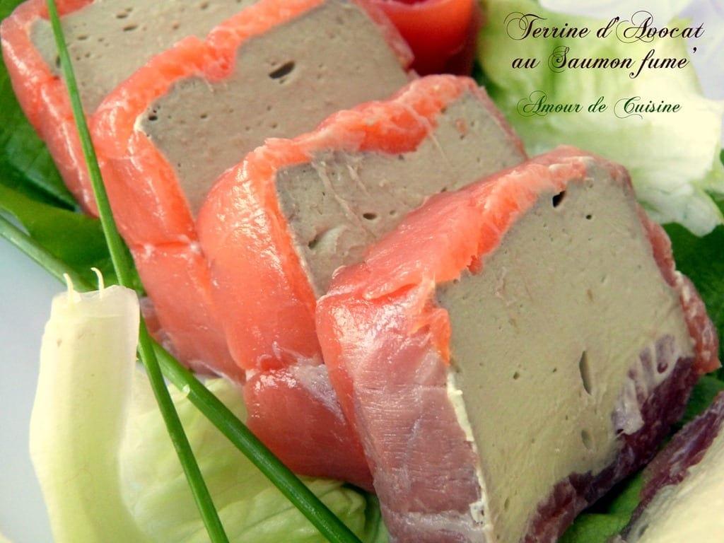Mousse d 39 avocat au saumon fum amour de cuisine for Entree sans poisson