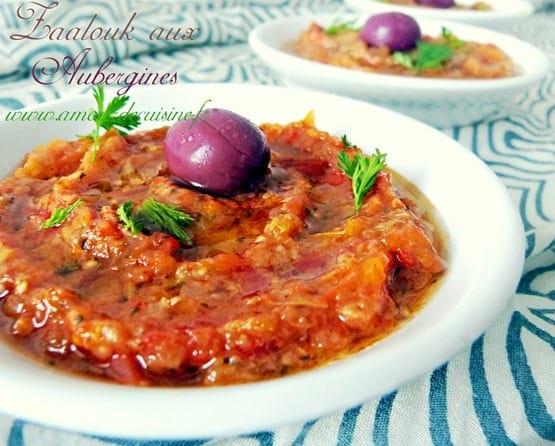 za3louk d'aubergines