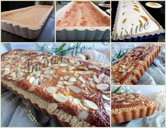 2012-02-25 tarte amandine aux peches