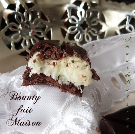 bounty chocolat maison
