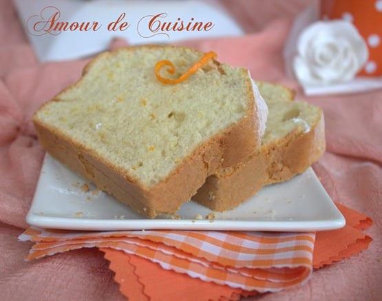 Cake a l'orange
