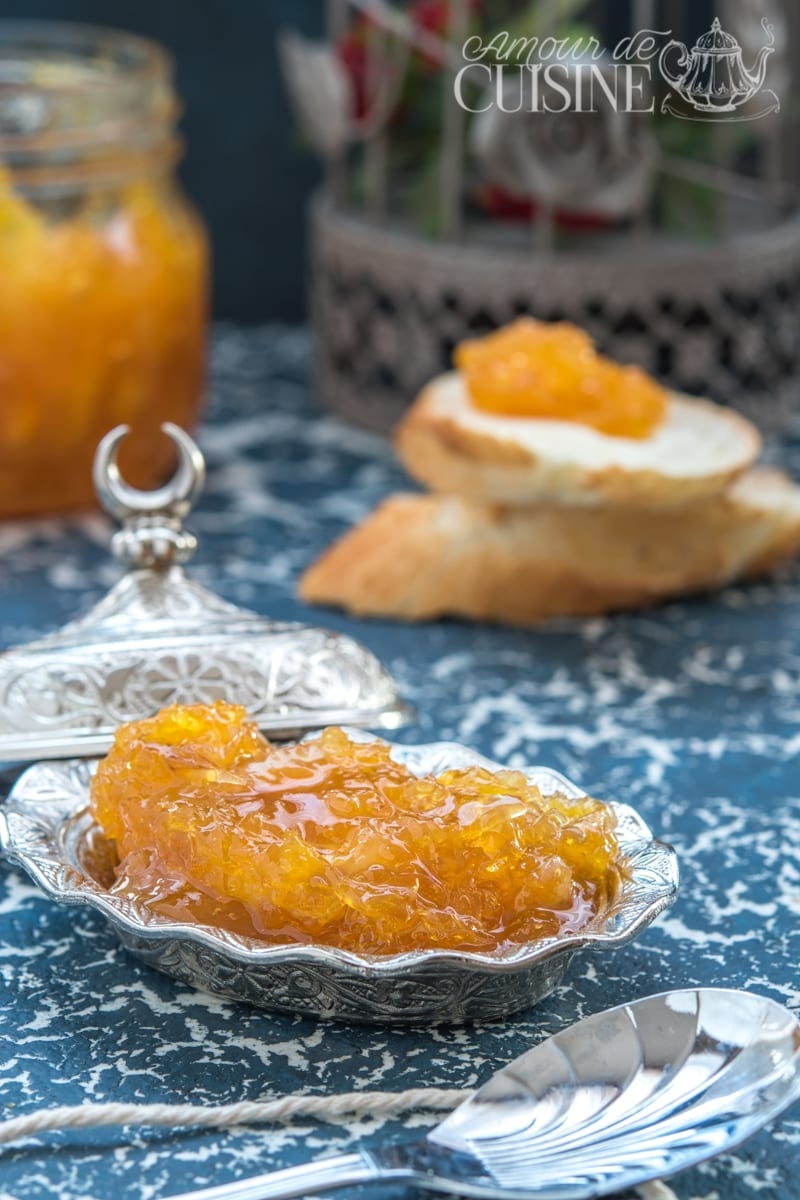 confiture d'oranges, facile et rapide