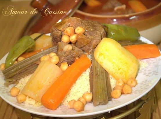 Couscous aux cardons couscous bel khorchefs amour de for 1 amour de cuisine