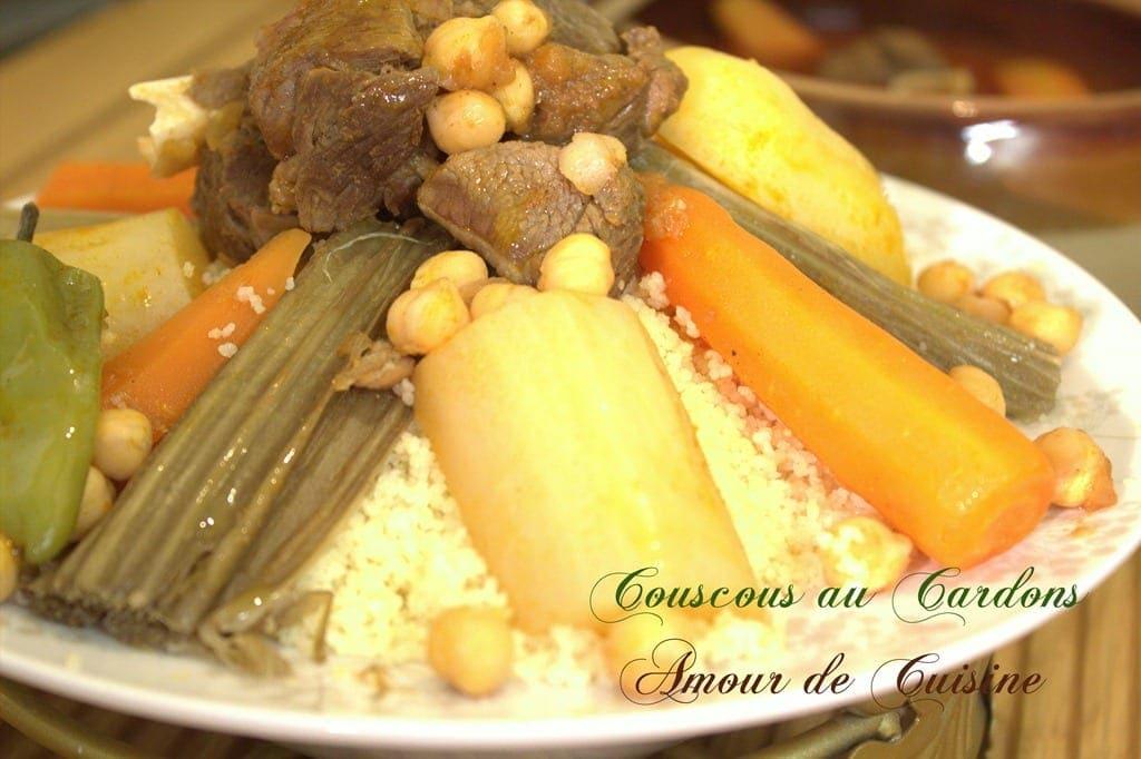 Couscous aux cardons couscous bel khorchefs amour de - Fr3 fr recettes de cuisine ...