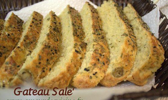 Gateau salé / pain au fromage