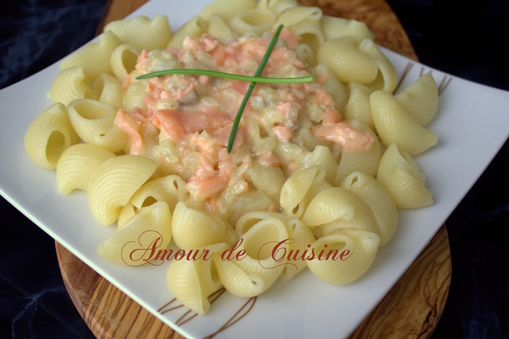 P tes au saumon fum facile et rapide amour de cuisine for Plats facile a cuisiner