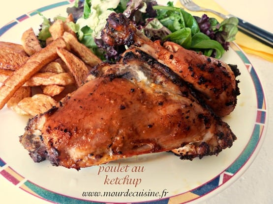 poulet ketchup actifry