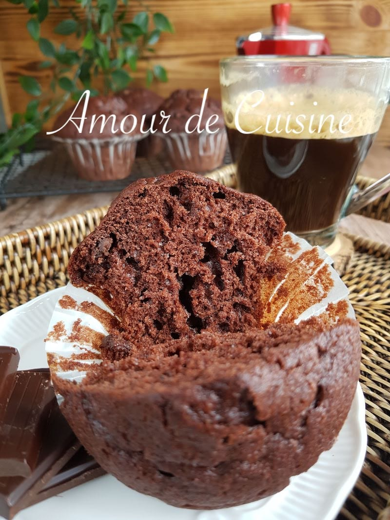 muffins au chocolat extra moelleux