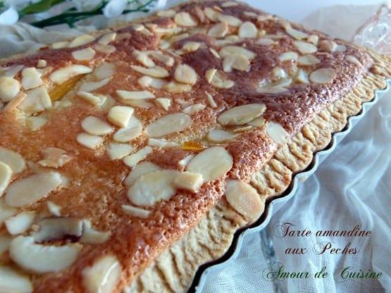 tarte amandine aux peches 030
