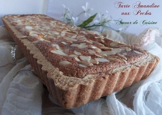 tarte amandine aux peches 046