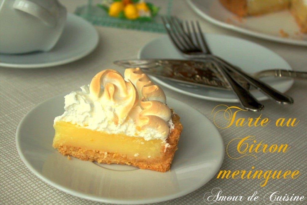 Meringue a l 39 ancienne recette tr s facile amour de cuisine - Tarte au citron cuisine az ...