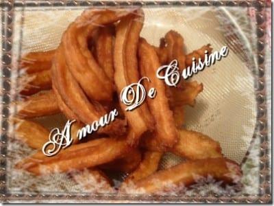 recette de Churros / Chichis , beignet espagnol