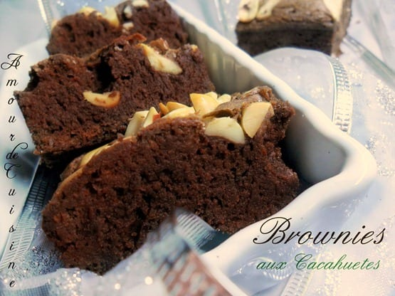 brownie aux cacahuetes