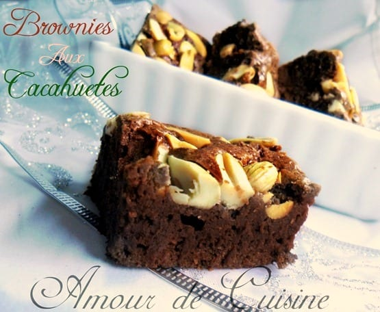 brownies aux cacahuetes